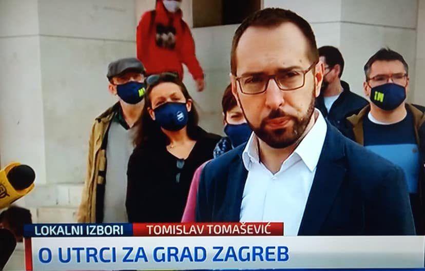 """Tomašević: """"Bandića više nema ali mreža HDZ-a i Bandića ostaje, model lokalnih šerifa treba razmontirati. Najbolje mjesto da to pokažemo je Zagreb jer je to simbol"""""""