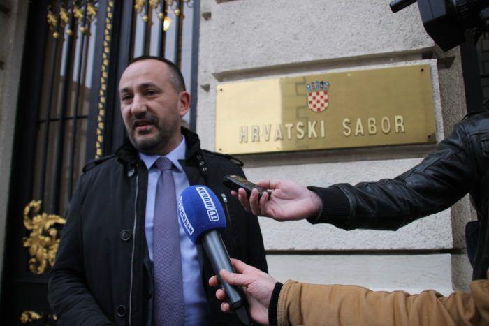 Saborski zastupnik Hrvatskih suverenista Zekanović: Nitko ne govori da Karamarko nije kriv za sukob interesa, očito postoje dvostruka mjerila