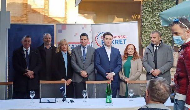 Koalicija Domovinski pokret, Most i nezavisni predstavili kandidate u Požeško-slavonskoj županiji