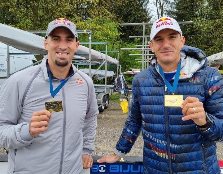 Valent i Martin Sinković osvojili zlato na Europskom veslačkom prvenstvu