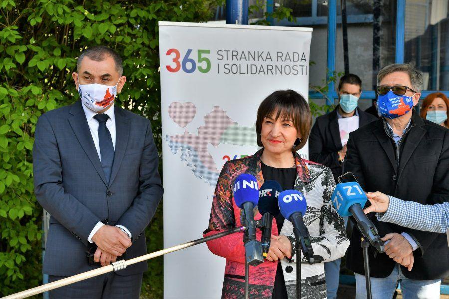 Pavičić Vukičević predala potpise za kandidaturu za gradonačelnicu Zagreba