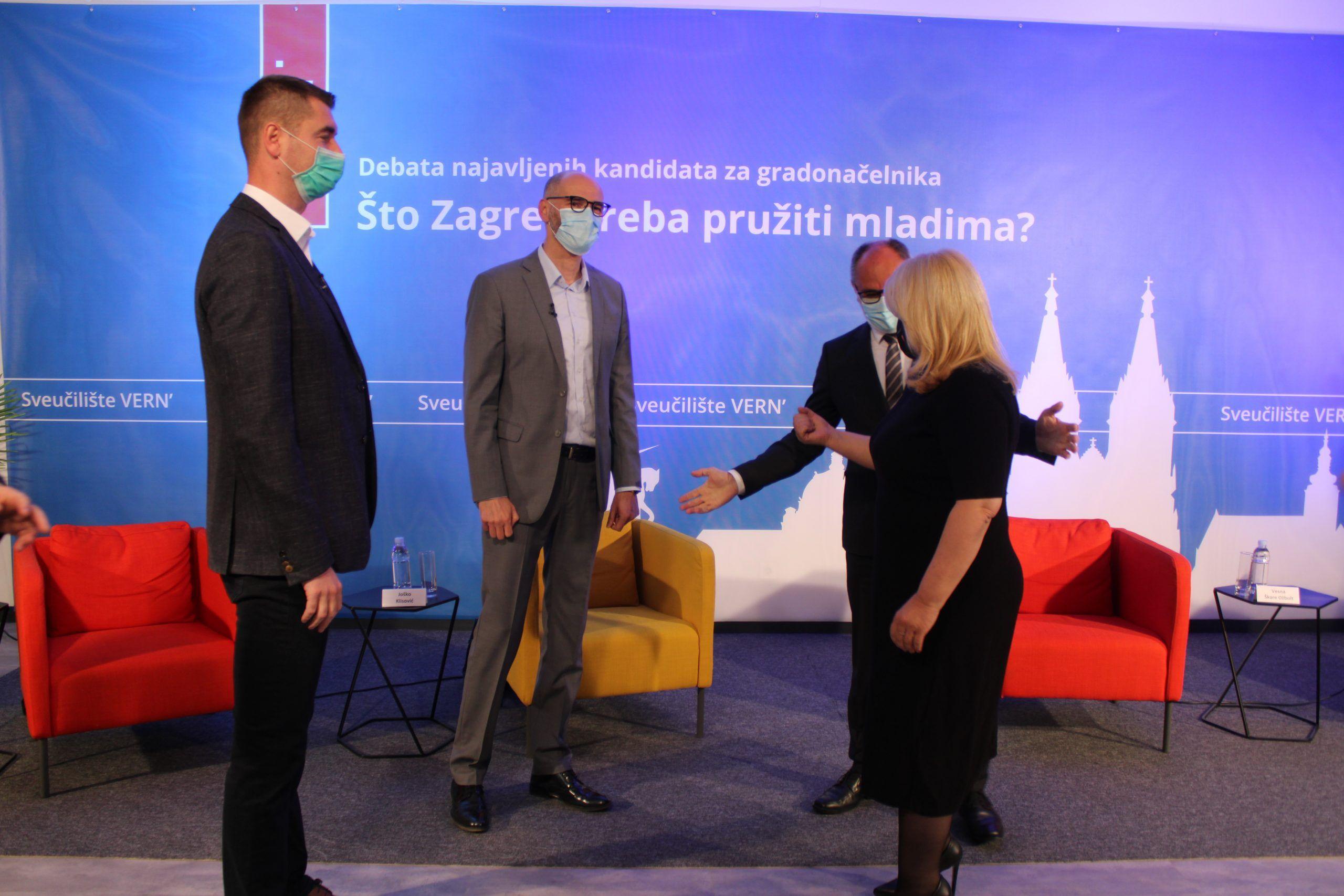 """Škare Ožbolt na debati otresla HDZ-ovog Filipovića: """"Nijedan direktor javnog poduzeća koji hoda okolo po medijima me ne financira kao vas, moju kampanju ne financira nitko"""""""