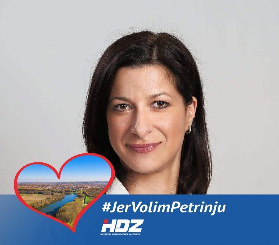 Petrinja: Poziv HDZ-ove Magdalene Komes protukandidatima na izborima na suradnju
