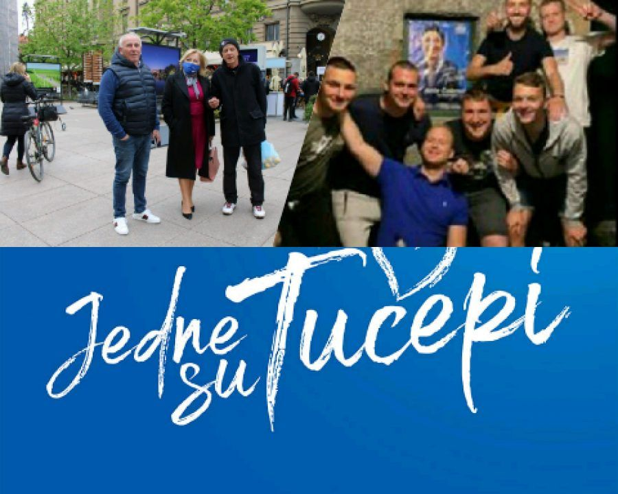 Mladež HDZ Tučepi složna ekipa na kojima stranka i ostvaruje svoju snagu