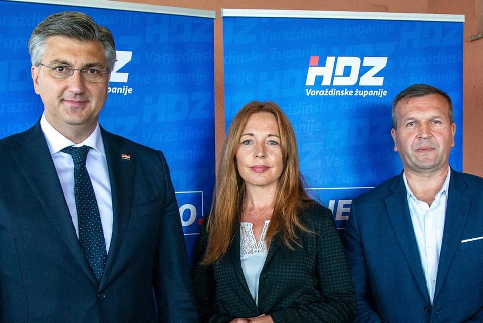 """Plenković o uspjehu HDZ-a u Varaždinskoj županiji: """"Zadovoljni smo što je ovdje ugovoreno više od 2,1 milijarde sredstava iz EU fondova"""""""