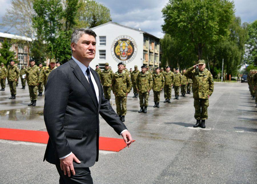 Predsjednik Milanović: Naše Oružane snage nisu velike, ali su kvalitetne, dobro obučene i dobro motivirane