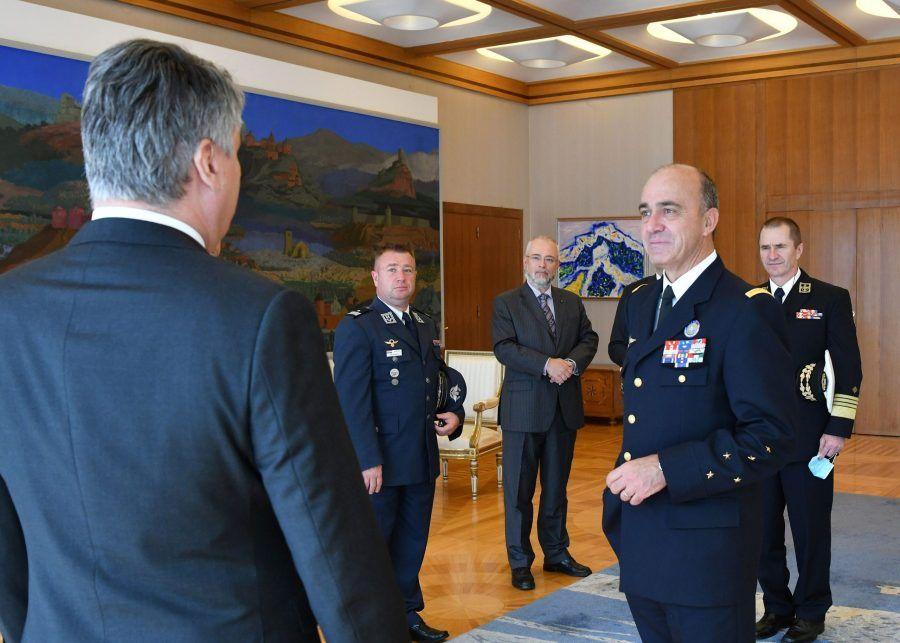 Predsjednik Milanović primio generala NATO-a Lanatu