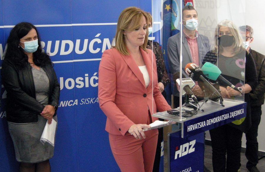 Kandidatkinja HDZ-a Željka Josić: Sisku je nužna snažna demografska obnova