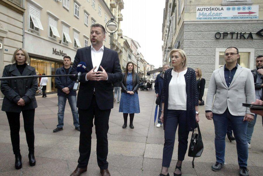 HDZ-ov kandidat za gradonačelnika Rijeke Ostrogović najavljuje gradnju vrtića i doma za starije na prostoru dječje bolnice
