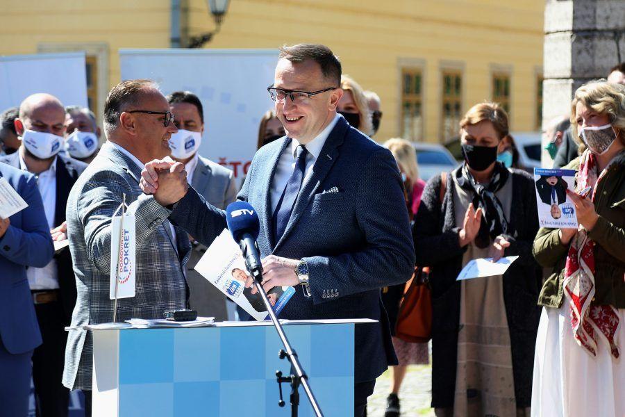 Predstavljena kandidacijska lista Domovinskog pokreta i Mosta za Gradsko vijeće Osijeka