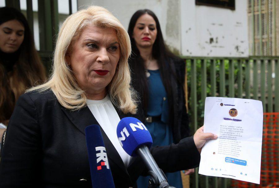 """Škare Ožbolt: """"HDZ-ov kandidat Filipović svojim ponašanjem potpuno zaprljao ovu kampanju"""""""