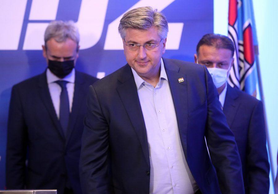 """(VIDEO) Plenković: """"HDZ je druga lista na razini Zagreba, što je izrazito dobro, to je nova generacija HDZ-ovih političara"""""""