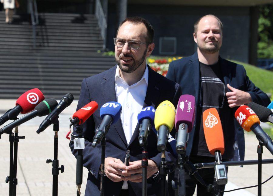 (VIDEO) Tomašević: Idemo u preustroj gradske uprave, tražit ćemo mandate na raspolaganje