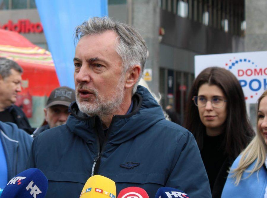Škoro pozvao birače u Zagrebu da zaustave radikalnu ljevicu: Tome zajedno moramo odlučno reći NE!