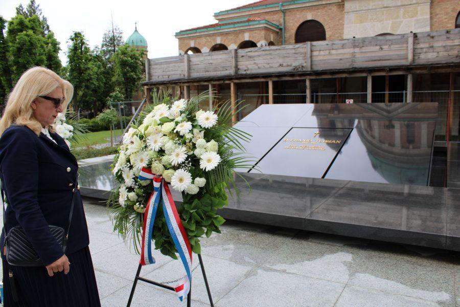 """Škare Ožbolt: """"Od Tuđmana sam naučila koliko je važno graditi politiku umjerenosti, odmjerenosti, sadržaja, nacionalne pomirbe i zajedništva"""""""