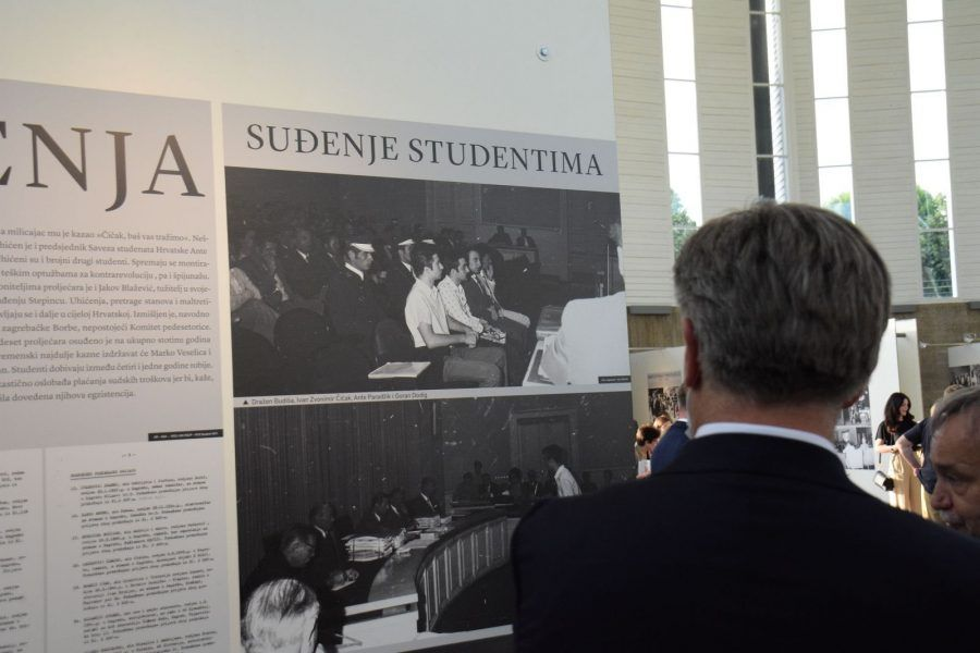 U Francuskom paviljonu izložba posvećena 50. obljetnici Hrvatskog proljeća