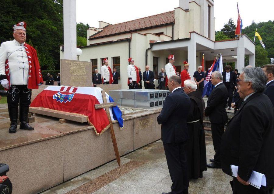 U Macelju pokopani posmrtni ostatci 84 žrtve komunističkog režima
