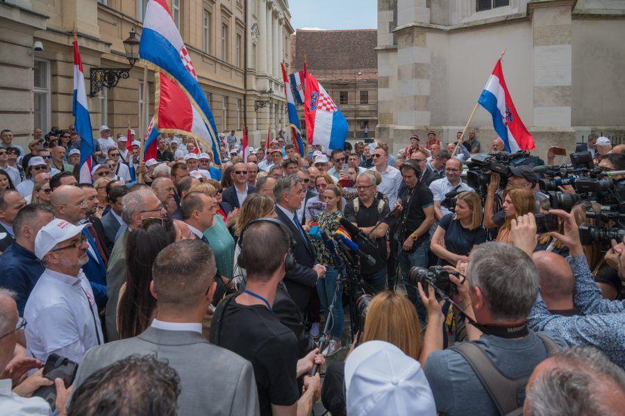"""Domovinski pokret: """"Hvala Ti, dragi Miro, što si sebe ugradio u temelje pokreta koji će promijeniti Hrvatsku"""""""