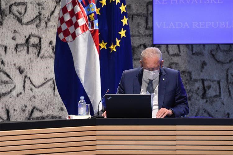 MINISTAR POLICIJE Božinović na sjednici Vlade o epidemiološkim mjerama, protuminskom djelovanju i granici