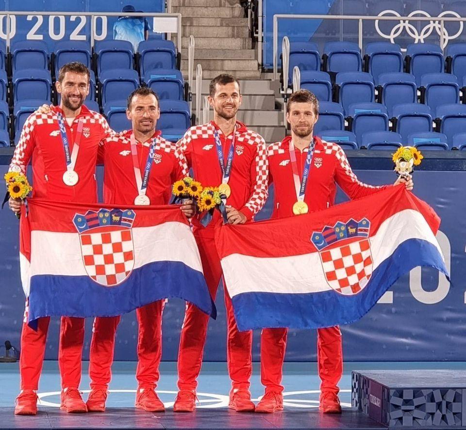 HRVATSKI TENISAČI ISPISALI POVIJEST! OLIMPIJSKE IGRE: Mektić i Pavić osvojili zlatnu medalju, srebro Čiliću i Dodigu