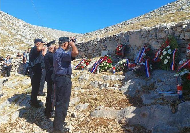 POČAST ZA POGINULE VATROGASCE: Na Kornatu obilježena 14. godišnjica tragedije