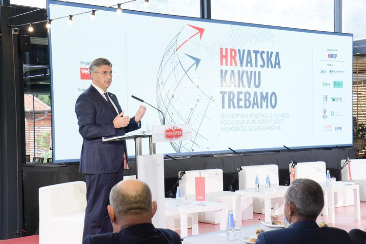 Plenković: Hrvatska se brzo vratila na put gospodarskog oporavka