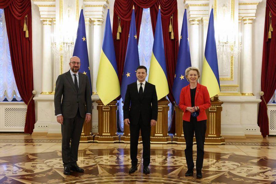 Stanje na istoku Ukrajine i plin glavne teme samita EU-a i Kijeva