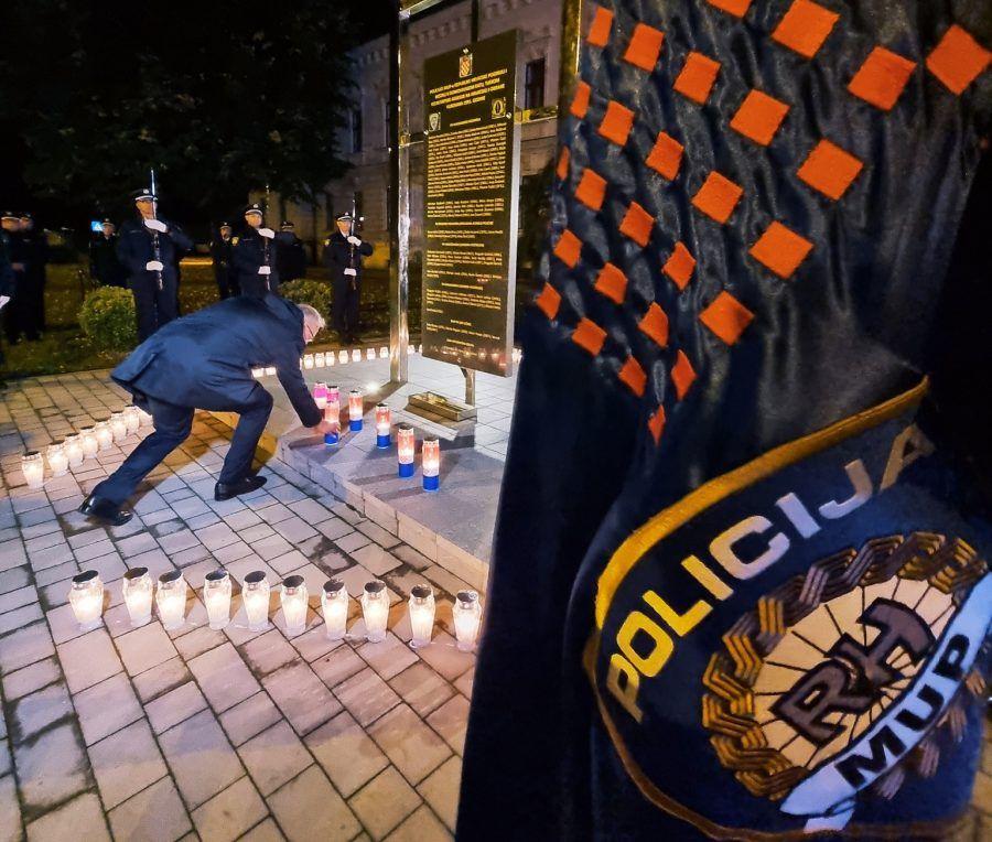 U Vukovaru sijećanje na 97 poginulih i nestalih policajaca